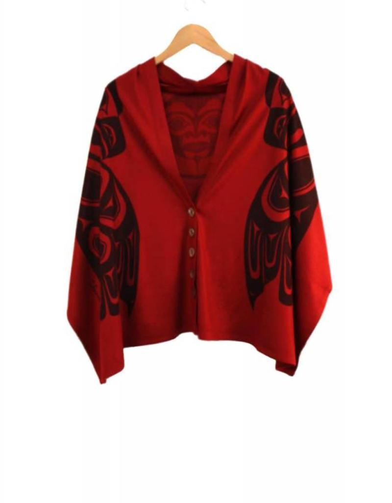 Chloe Angus Design Spirit Wrap - Scarlet Reg