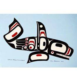 Parnell, Eric Haida Raven Fin Whale