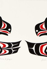Parnell, Eric Haida Baby Raven & Eagle