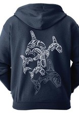 Native Northwest Zippered Hoodie