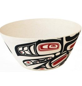 "Native Northwest Running Raven 10"" Bowl"