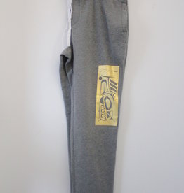Mike Forbes Grey Sweat Pant - Gold Design