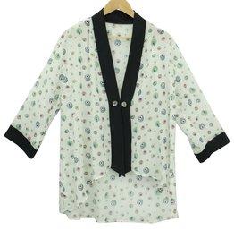 Chloe Angus Design Tuxedo Kimono MuitiRoe