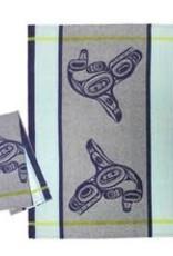 Native Northwest Whale - Tea Towel