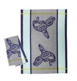 Ernest Swanson Tea Towel - Whale