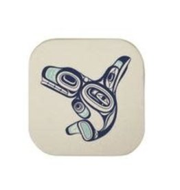 Native Northwest Whale Coaster Set