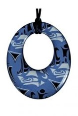 Panabo Sales Silk Pendant Round Blue