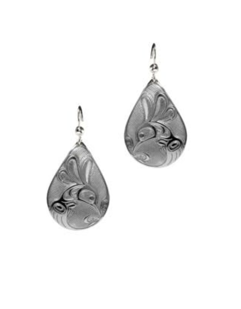 Helin, Bill Hummingbird Tear Drop Earrings