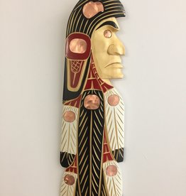 Lance Joseph Eagle Chief Carving