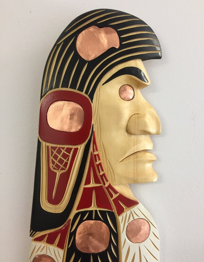 Lance Joseph Eagle Chief Carving