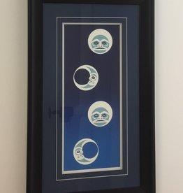Johnny Jr., Maynard Winter Moon Framed Art