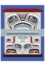 Native Northwest Bentwood Box Colouring Book