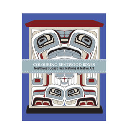Native Northwest Bentwood Box Colouring Book