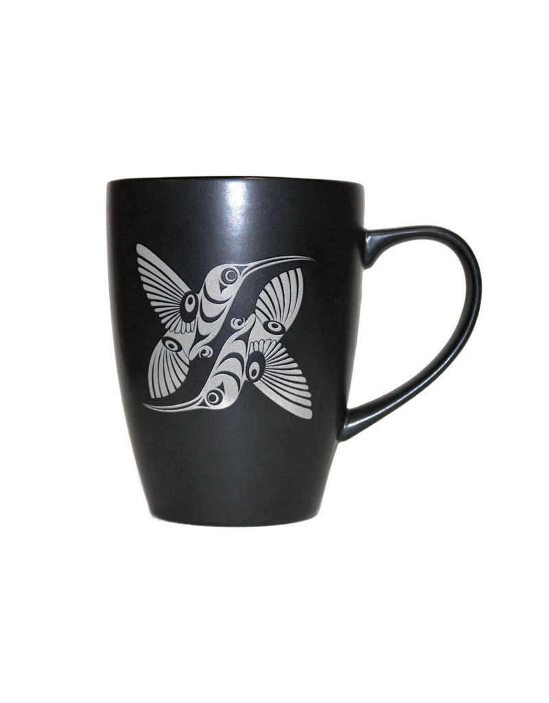 Native Northwest Black Mug