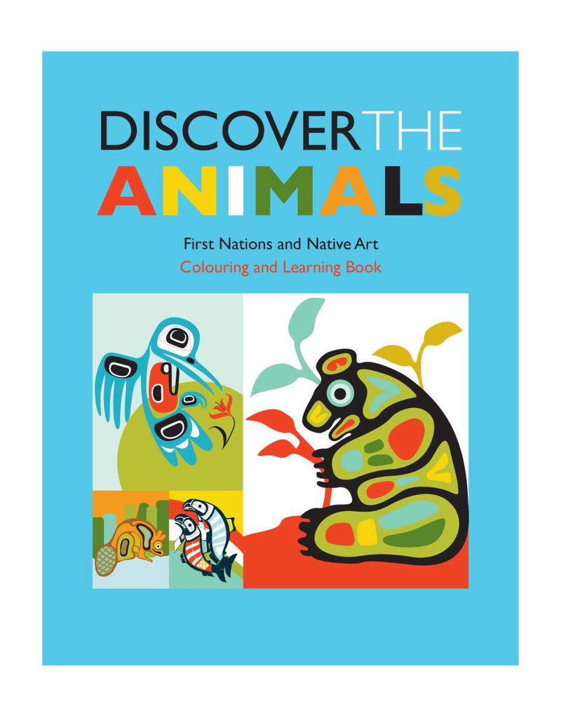 Native Northwest Discover Animal Book