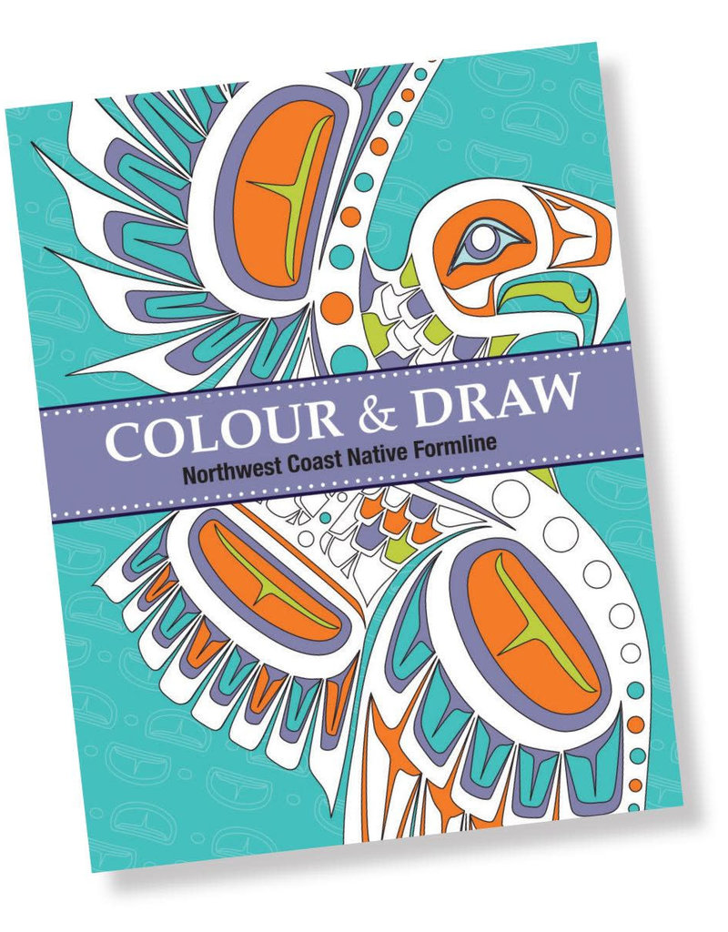 Native Northwest Native Formline Colouring Book