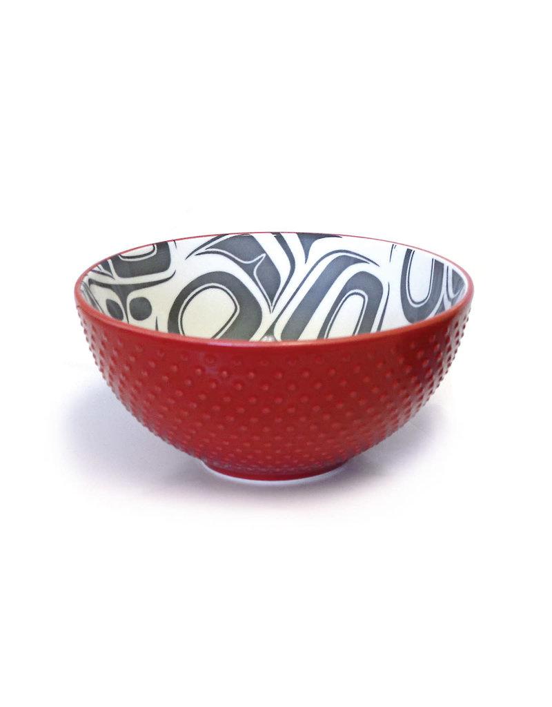 Native Northwest Porcelain Art Bowl (Medium)