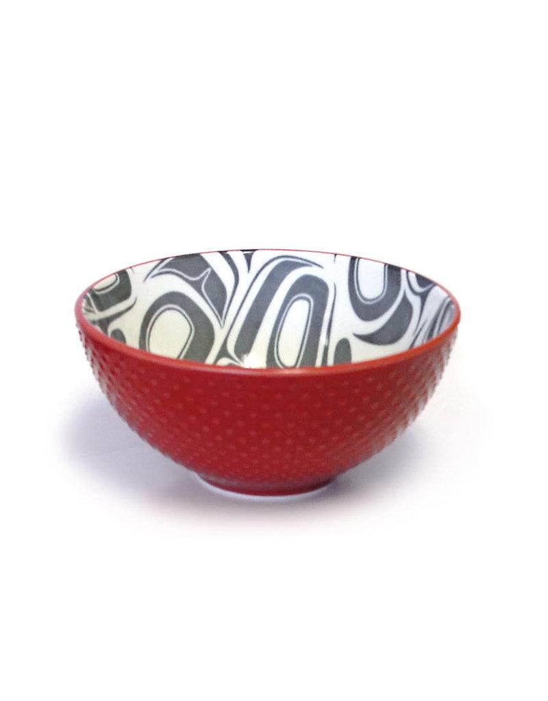 Native Northwest Porcelain Art Bowl (Small)