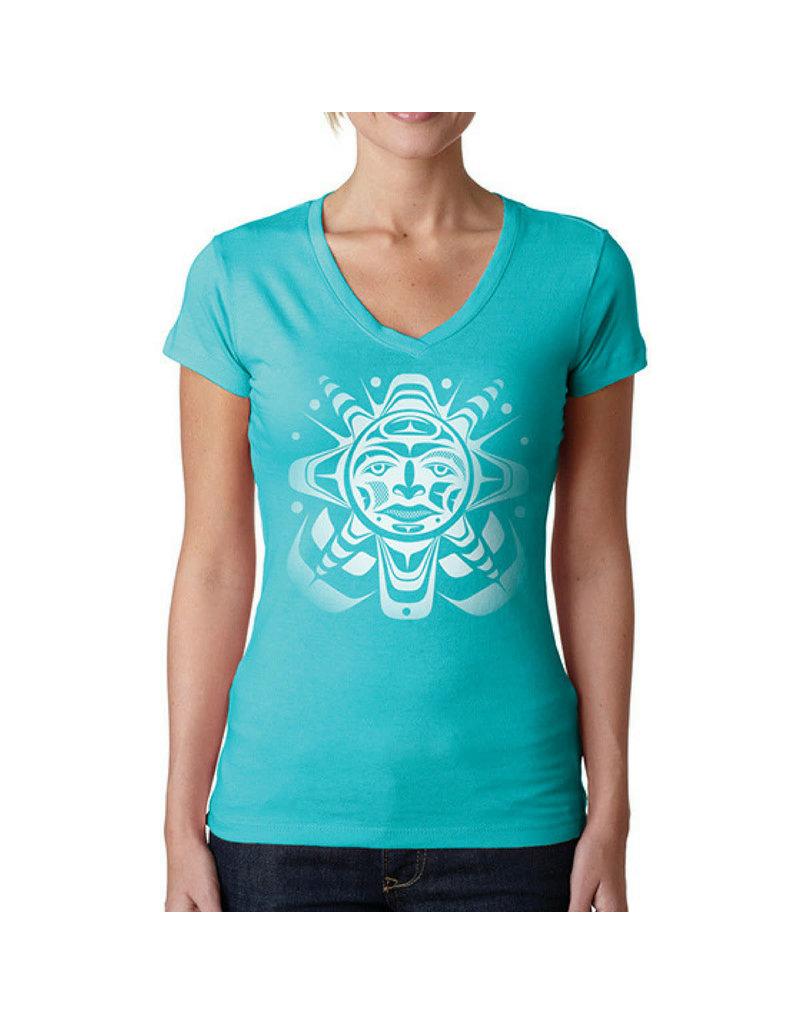 Native Northwest Screen Print T-Shirt-Ladies
