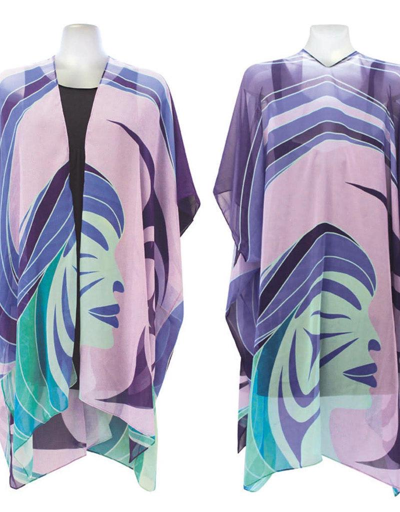 Native Northwest Sheer Fashion Wrap