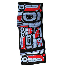 Ryan Cranmer Silk Scarf - Chilkat Bear