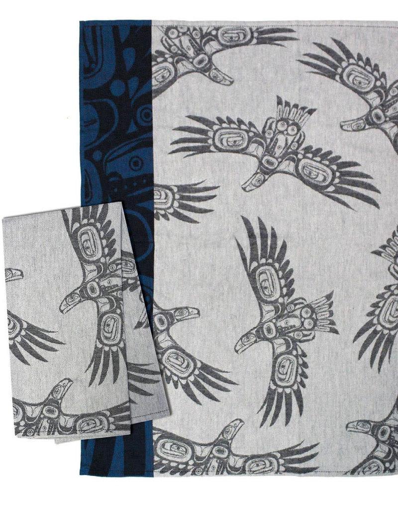 Corey Bulpitt Soaring Eagle Tea Towel