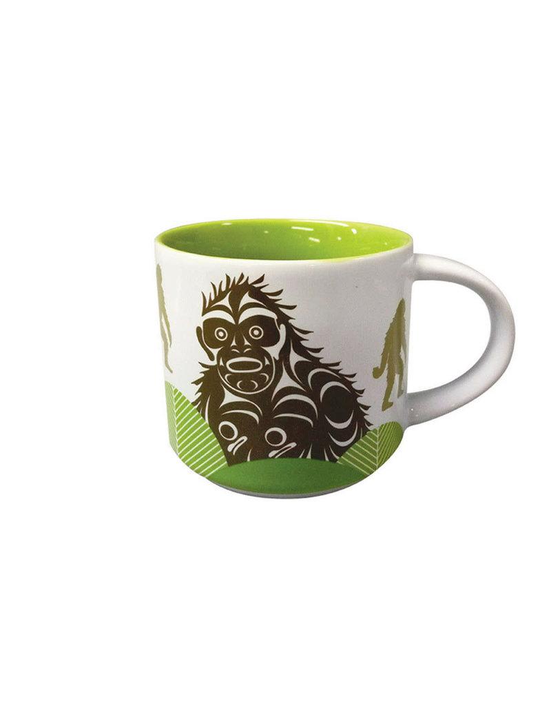 Native Northwest White Mug