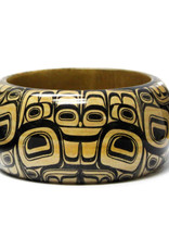 "Native Northwest Wooden 1.5"" bangles"