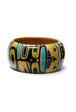 "Native Northwest Wooden 1.5"" Bangles"