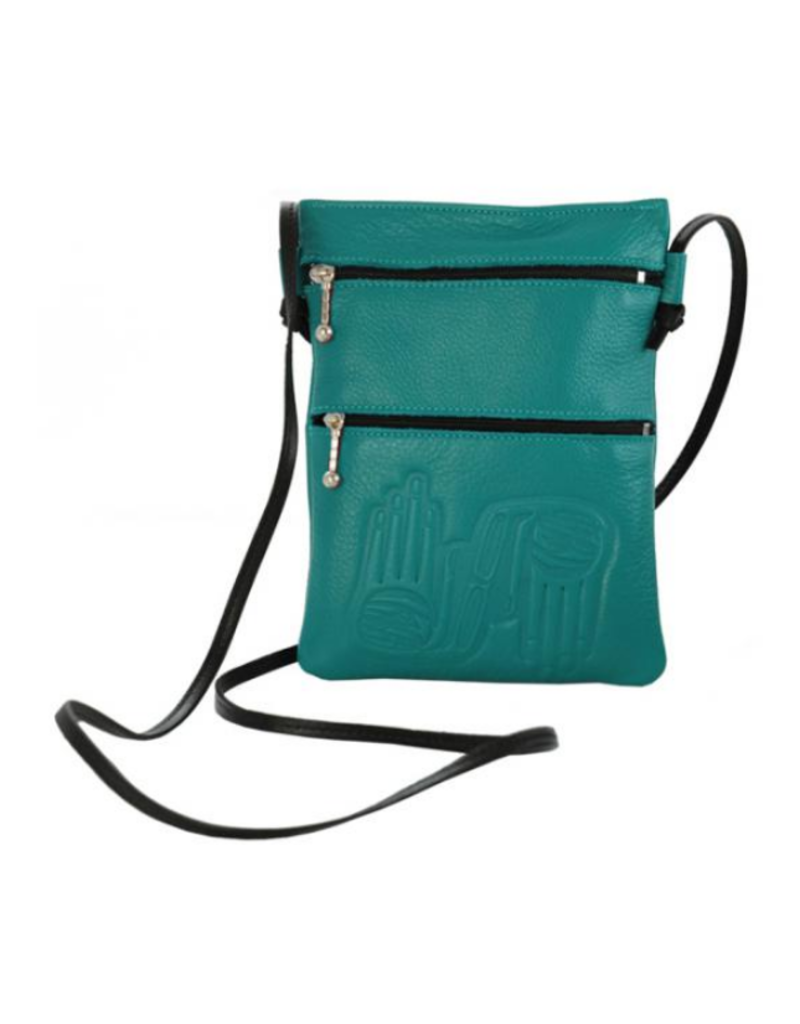 Panabo Sales Dorothy Grant Turquoise Passport Holder