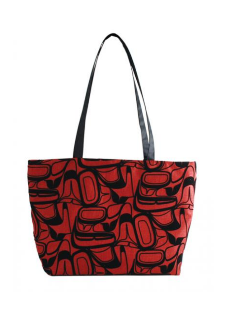 Robinson, Kelly Eagle Red Flocked Tote Bag