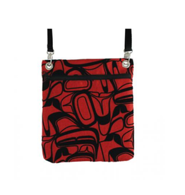 Robinson, Kelly Eagle Red Flocked Town Bag