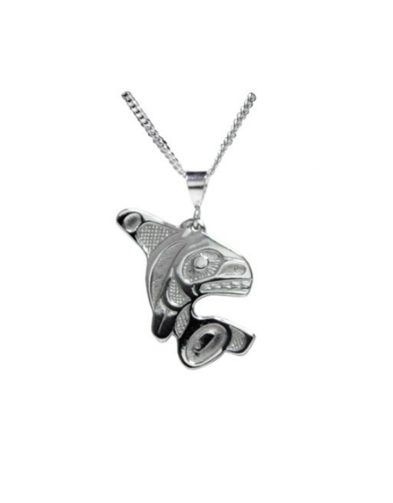 Helin, Bill Orca Pendant Pewter