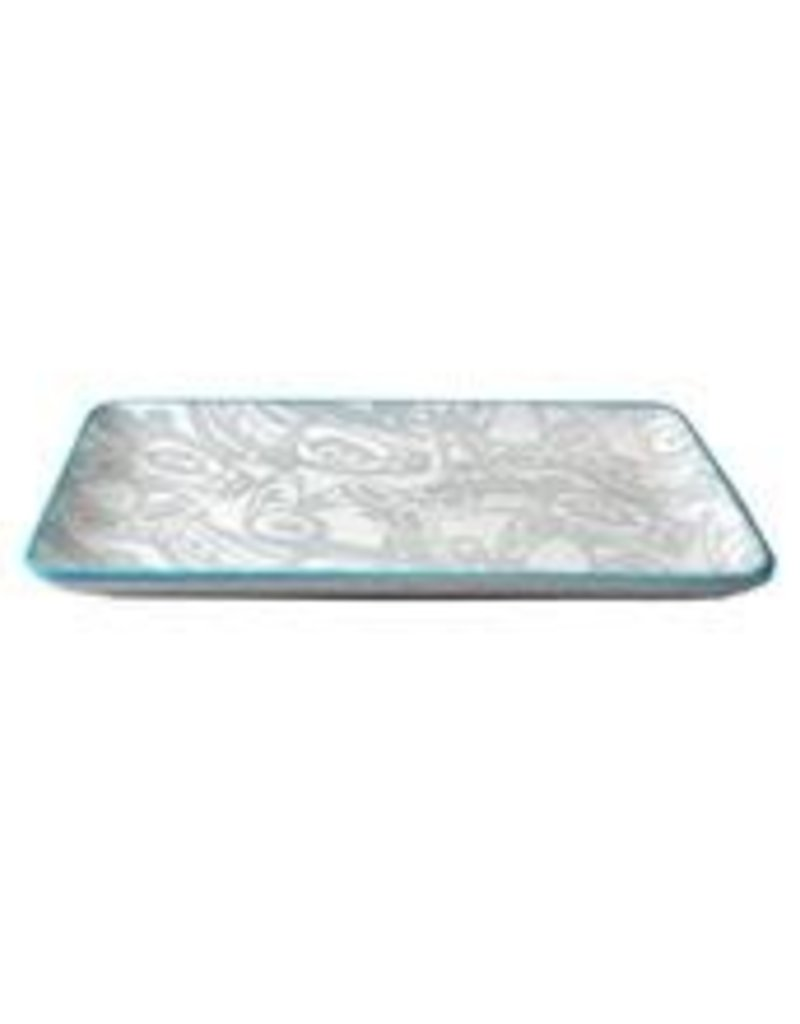 Robinson, Kelly Orca Platter Turquoise