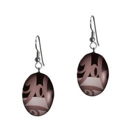 Robinson, Kelly Oval Onyx Earring