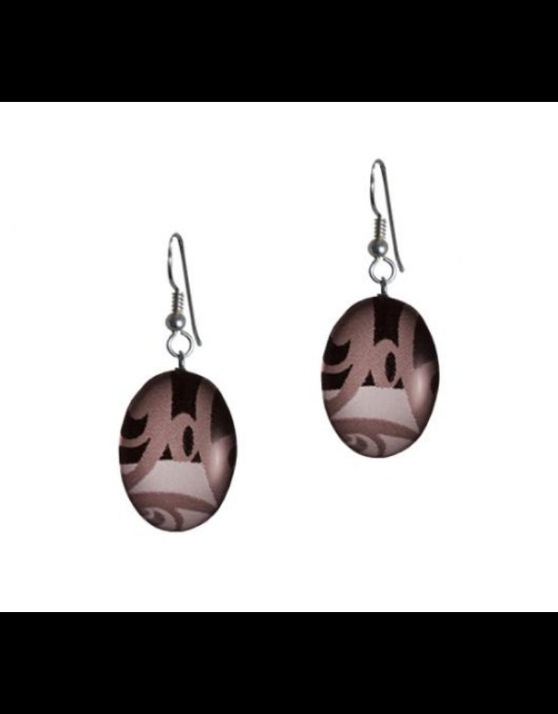Robinson, Kelly Oval Onyx Earring