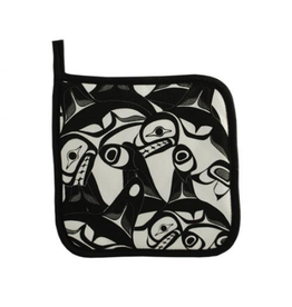 Helin, Bill Pot Holder Orca
