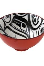 Robinson, Kelly Raven Medium Bowl Red/Black