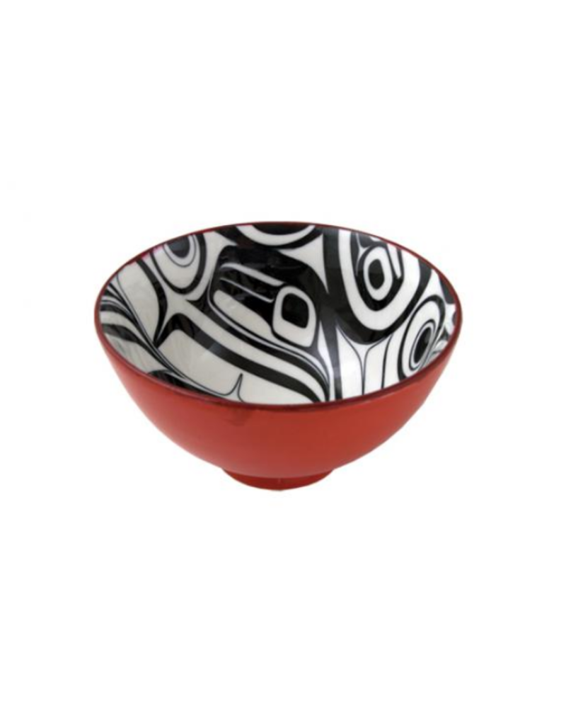 Robinson, Kelly Raven Medium Bowl Red/Black