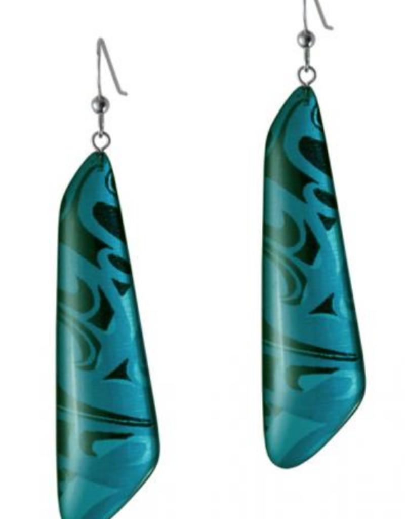 Hunt, Corrine Trapezoid Turquoise Earring