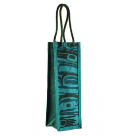 Robinson, Kelly Jute Wine Bag