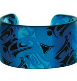 Hunt, Corrine Silk Cuff Turquoise