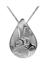 Helin, Bill Hummingbird Teardrop Pewter Pendant