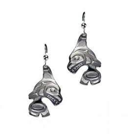 Helin, Bill Orca Earring Pewter
