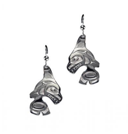 Helin, Bill Orca Earring Pewter