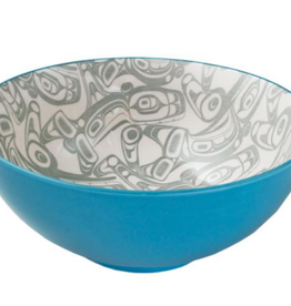 Robinson, Kelly Orca Large Bowl Turquoise/Grey