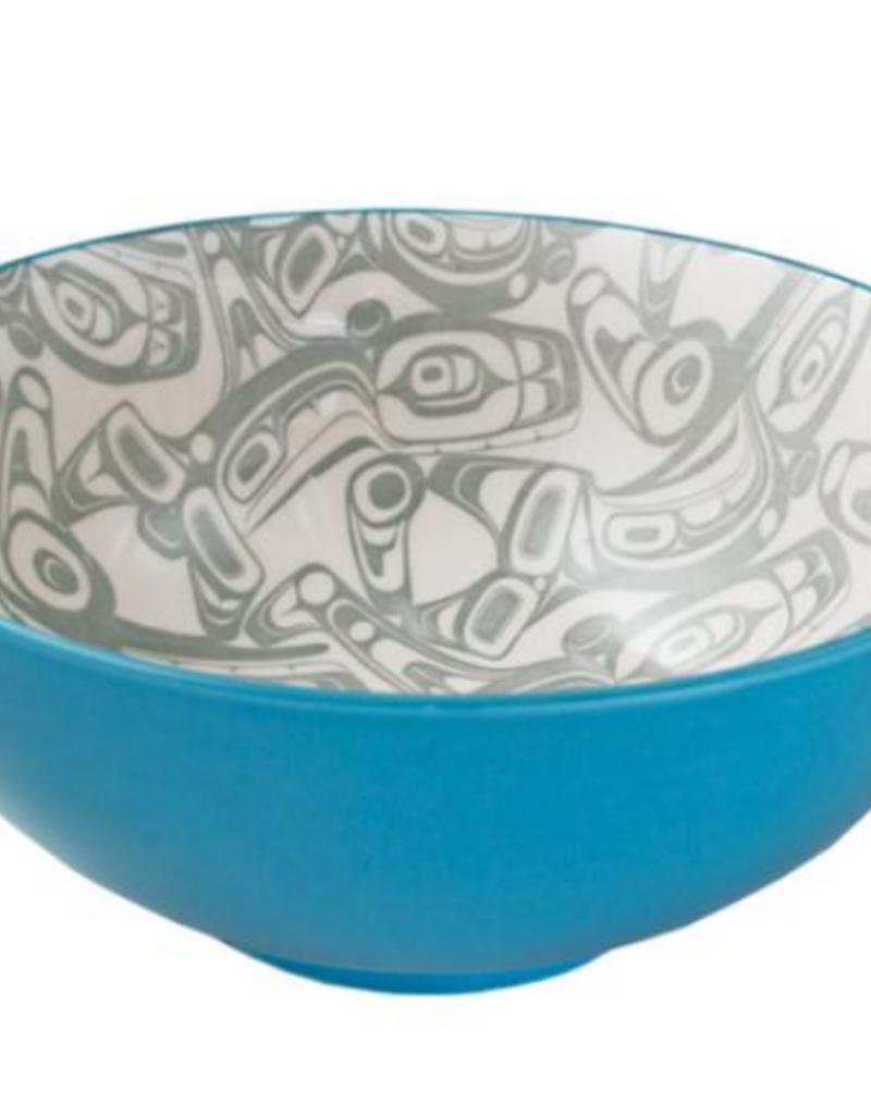 Robinson, Kelly Orca Large Bowl Turquoise/Grey