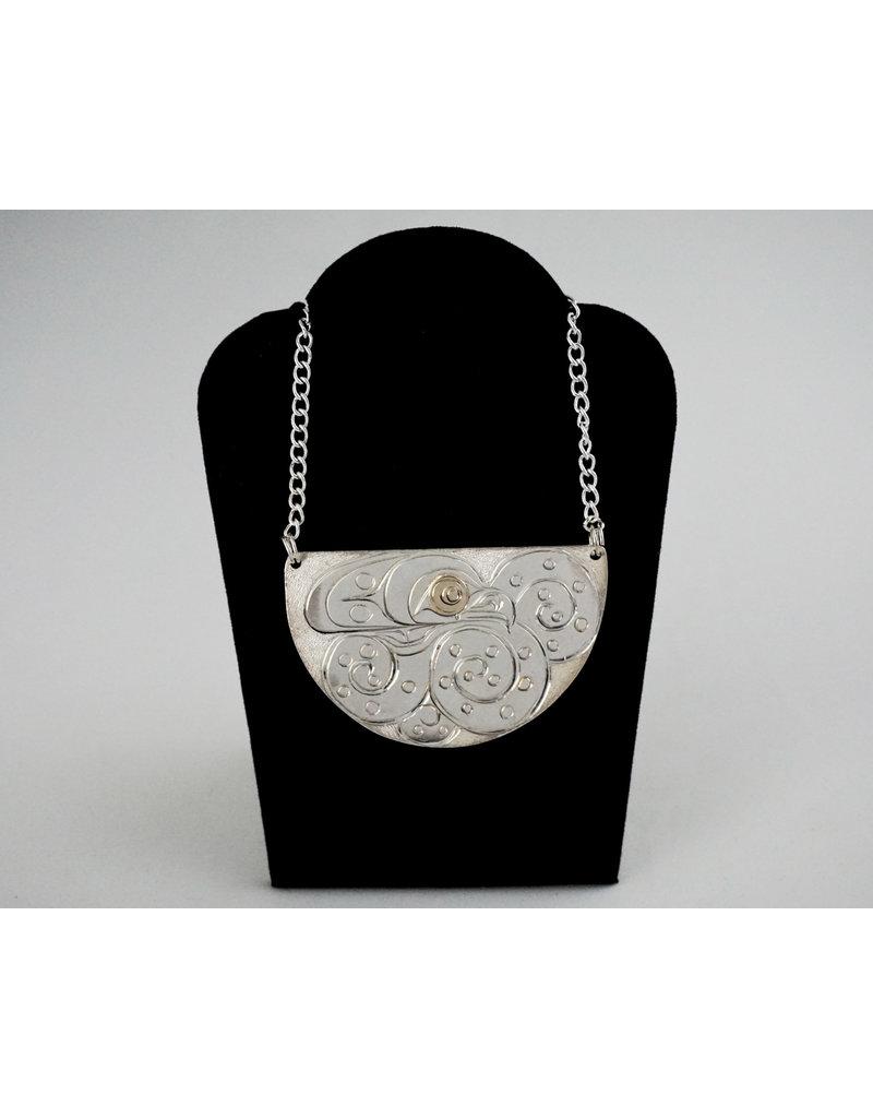 Agnes Wisden Ocotpus Silver/Gold Pendant
