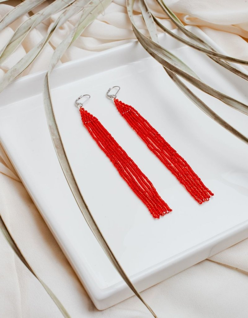 Emma Love Cabana Beaded Earring
