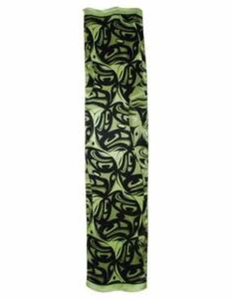 Panabo Sales 3 Eagles Silk Scarf Green